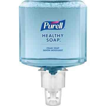 PURELL  Healthy Soap™ Mild Handwash, Foam, 1.2 L, Unscented, Case Qty/Case: 2 Refills - 1