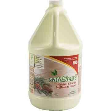 SAFEBLEND  Pine Oil Neutral Cleaner, Jug, 4 L - 1