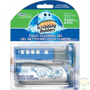 SC JOHNSON PROFESSIONAL  Scrubbing Bubbles® Toilet Cleaning Gel Container Size: 38 g, Pack of 6 - 1