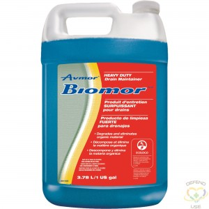 AVMOR  Biomor™ Heavy-Duty Drain Maintainer Container Type: Jug Container Size: 3.78 L - 1