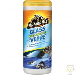 ARMOR ALL  Glass Wipes 25 ct - 1