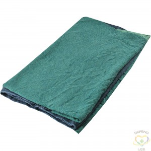 WIPECO  New Material Jersey Wiping Rags, Cotton, Mix Colours, 25 lbs. - 1