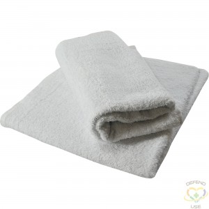 """WIPECO  Bar Rags, Cotton/Terrycloth, White, 1.75 lbs. Dimensions: 16"""" x 19"""" - 1"""
