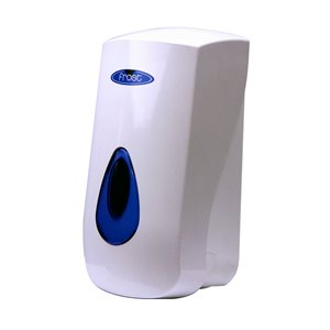 FROST  Lotion Soap Dispenser Capacity: 1000 ml Style: Push Colour: Blue and white - 1