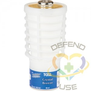 RUBBERMAID, T-Cell Continuous Odour Control Systems - Refill, Crystal Breeze, Cartridge