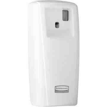 RUBBERMAID, Standard Aerosol LCD Dispenser, Colour: White