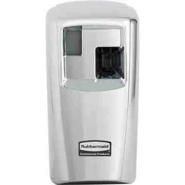 RUBBERMAID, Microburst 3000 LCD Dispenser, Colour: Chrome