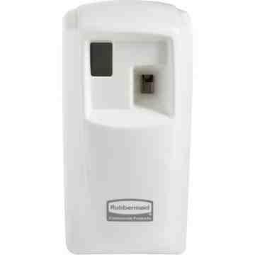 RUBBERMAID, Microburst 3000 LCD Dispenser, Colour: White
