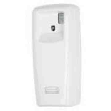 RUBBERMAID, Microburst 9000 Dispensers, Description: LCD Dispenser - White