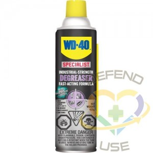 WD40 SPECIALIST, Industrial Degreaser, 425 g, Aerosol Can, Flashpoint: 202°F