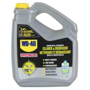 WD40 SPECIALIST, Industrial Degreaser, 3.78 L, Bottle, Format: 3.78 L
