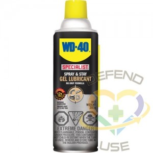 WD40 SPECIALIST, Specialist™ Spray & Stay, Aerosol Can, 425 g, Effective Temperature Range: -100°F to 500°F