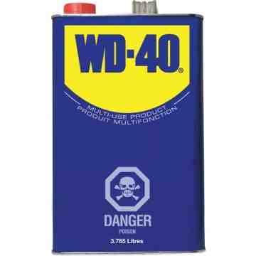WD-40, Penetrant, 3.785 L, Format: 3.785 L