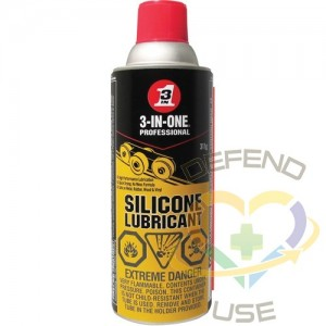WD-40, 3-IN-1 Silicone Lubricant, Aerosol Can, 311 g, Film Type: Dry