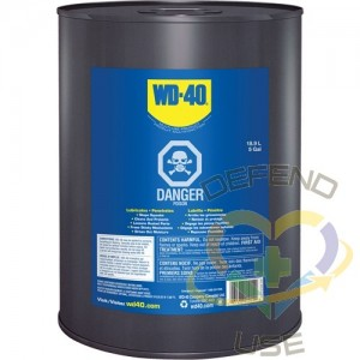 WD-40, Penetrating Oil, Pail, 18.9 L, Film Type: Wet