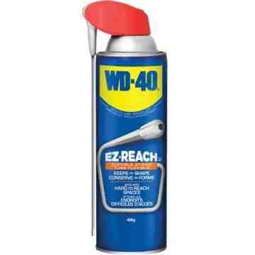 WD-40, EZ-Reach™ Penetrant, Aerosol Can, 408 g, Film Type: Wet