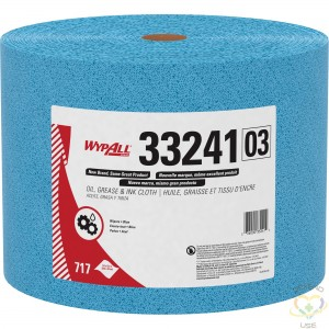 """KIMBERLY-CLARK  WypAll® Oil, Grease & Ink Cloth, Specialty, 13-2/5"""" L x 9-4/5"""" W - 1"""