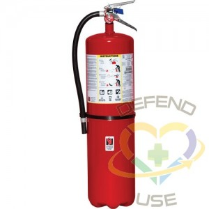 Steel Dry Chemical ABC Fire Extinguishers,Class: ABC,Type: Dry Chemical, Capacity: 30 lbs.,Range: 10' - 15'