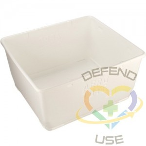 REMCO PRODUCTS, Food Storage Container, Colour: White, Capacity: 108 gal.