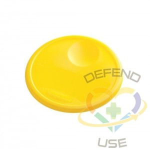 Lid Fits 5723/5724 Round Container - Yellow