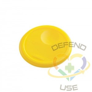 Lid Fits 5720/5721 Round Container - Yellow