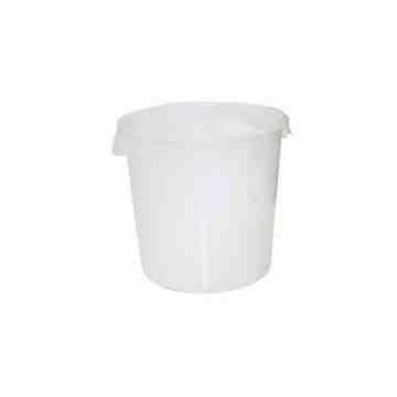 Round Storage Container 18qt - White - 1