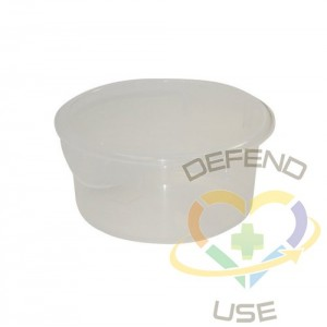 Round Storage Container 2qt - Clear