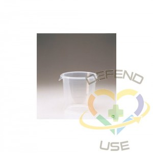 Round Storage Container 4qt - Clear