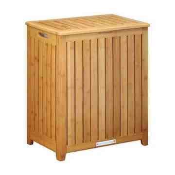 Oceanstar Spa-Style Bamboo Laundry Hamper BRH1248
