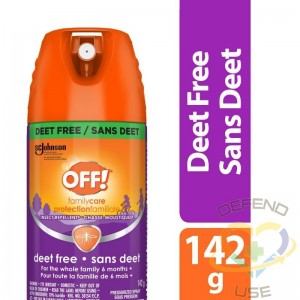 Insect OFF! Repellent-Deet Free, Case of 12/142g - 1