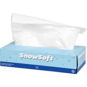 "Premium Facial Tissue, 2 Ply, 7.4"" L x 8.4"" W, 100 Sheets/Box, Case of 30 - 1"