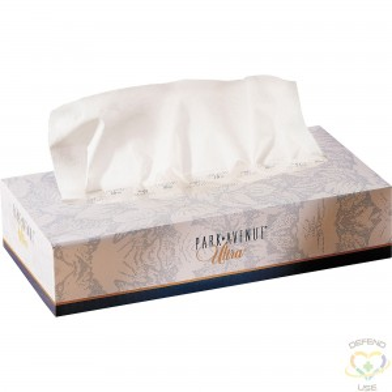 "TORK  Premium Facial Tissue Flat Box, 2 Ply, 8"" L x 9"" W, 100 Sheets/Box Boxes/Case: 30 - 1"