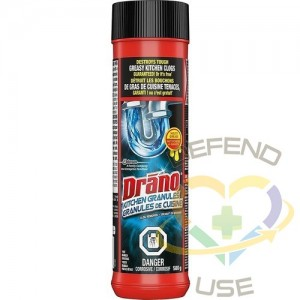 Drano Professional Strength Crystals, Case of 6x50 - 1