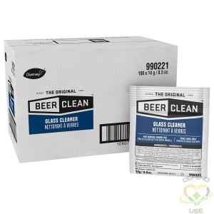 Beer Clean Glass Cleaner (0.5 Ounce, 100-Pack) - 1