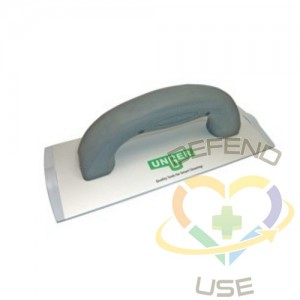 """Unger Handheld Aluminum Pad Holder 8"""" for Indoor Cleaning Pad, Case: 10,EA"""