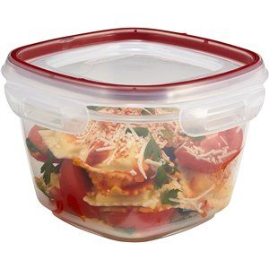 Rubbermaid Housewares, 7 cup 1.7L Square Lock-its, Case of 6