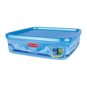 Rubbermaid 1867387 Freezer Blox 10.4 Cups Food Storage Container, Case of 2