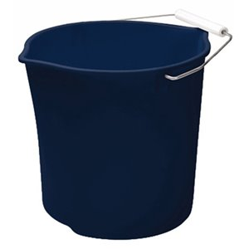 Rubbermaid Housewares, 10.4L Neat'N Tidy Bucket - Royal Blue, Case of 6