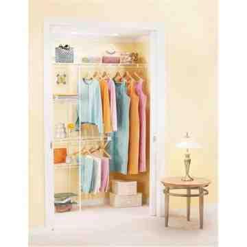 Rubbermaid Housewares, 3-5' Wardrobe Organizer, Case of 3