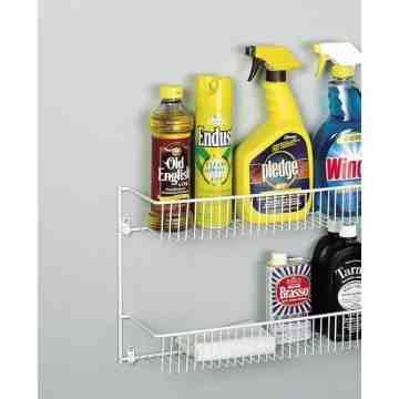 Rubbermaid Housewares, 2 Tier Door / Wall Rack, Case of 6