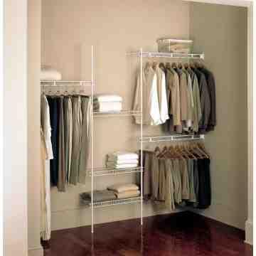 Rubbermaid Housewares, 4-8' Remodeling Wardrobe Org, Case of 2