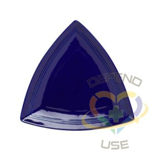Concentrix 12-1/2-Inch Triangle Plate 6 Pieces