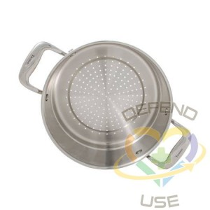 Concentrix 10-Inch x 5-Inch Stainless Steel Steamer Insert, Case of 1