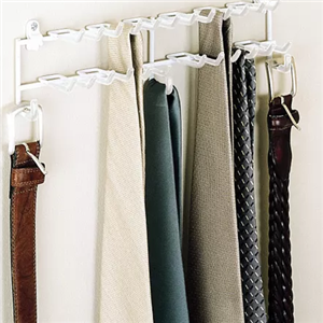 Rubbermaid Door/Wall Tie & Belt Organizer, Case of 12