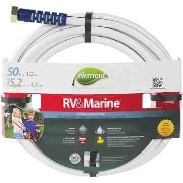 "Swan Element™ Marine & RV Water Hoses, PVC, 1/2"" dia. x 50'"