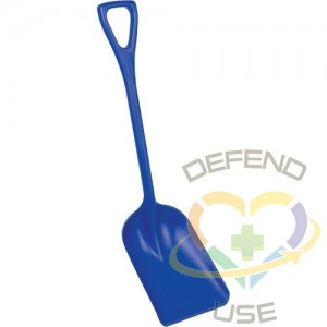 """REMCO PRODUCTS,Safety Shovels - Hygienic Shovels (One-Piece),Length: 38"""""""