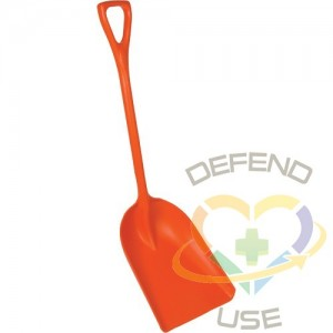 """REMCO PRODUCTS,One-Piece Shovel,Length: 42-1/2"""""""