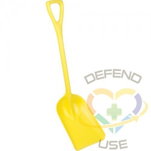 """REMCO PRODUCTS,One-Piece Hygienic Shovel,Length: 37-1/2"""""""