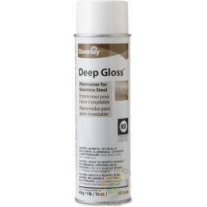 Deep Gloss - Maintainer For Stainless Steel Aerosol, Case of 12/473g - 1
