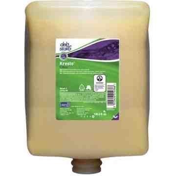 DEB, Kresto Citrus Hand Cleanser, Cream, 4 L, Scented, Plastic Cartridge